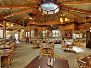 Dining at Sanibel Inn.