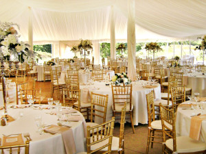 Wedding reception at Chula Vista Resort.