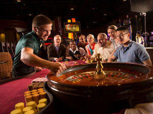Roulette table at Rocky Gap Casino Resort.