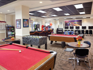 Recreation room at Wyndham Grand Desert.