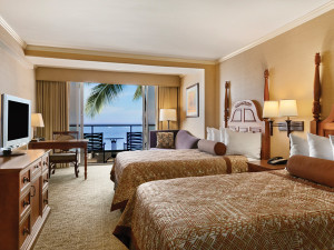 Guest Room at Outrigger Reef Waikiki Beach Resort