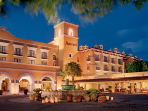 Exterior view of Costa Rica Marriott Hotel.