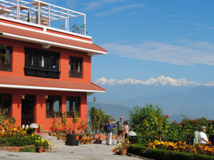 Exterior view of Dhulikhel Lodge Resort.