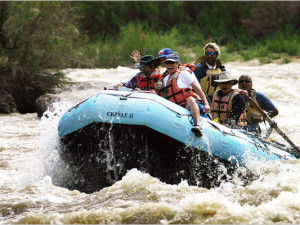 San Juan River adventures with ancient ruins and geology that spans a 100 years.  In Bluff, utah