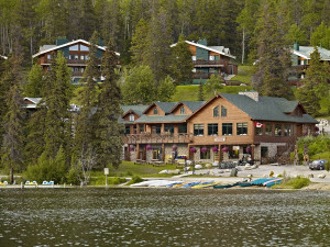 Exterior view of Pyramid Lake Resort.