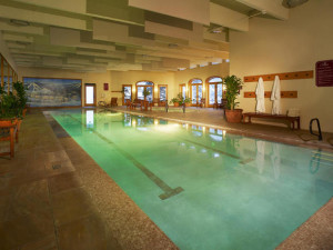 Indoor pool at The Charter at Beaver Creek.