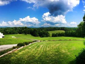 View from Dahlonega Spa Resort.