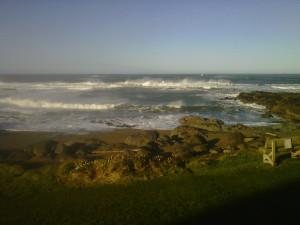 Beautiful view at Adobe Resort.