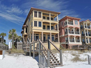 Vacation in luxury in our beachfront vacation homes in Destin, Florida.