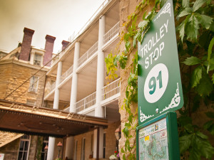 Historic tours at The 1886 Crescent Hotel & Spa.