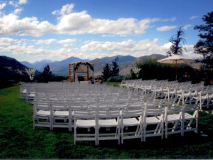 Wedding at Sun Mountain Lodge.