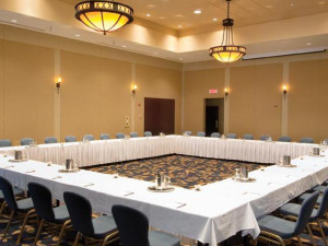 Meeting room at Fairmont Le Château Montebello.