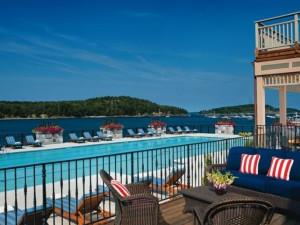 Outdoor Pool at Harborside Hotel