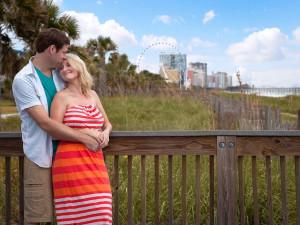 Couple at Bay View Resort.
