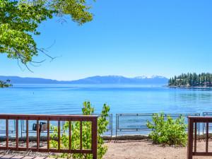 Lake view at Meeks Bay Resort & Marina.