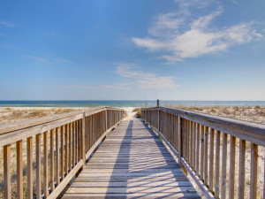 Beach boardwalk at Perdido Key Resort Management.