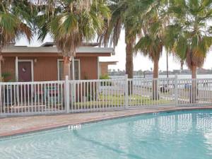 Outdoor Pool at Magic Suntan Motel
