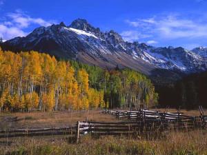 Mountains at SkyRun Vacation Rentals - Telluride, Colorado.