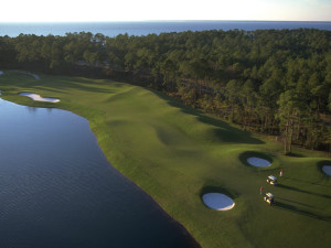 Golf course at Sandestin Golf Resort.