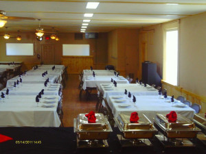 Dinning room at Colorado Springs KOA.