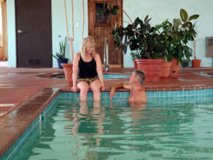 Indoor Swimming Pool at Gold King Mountain Inn