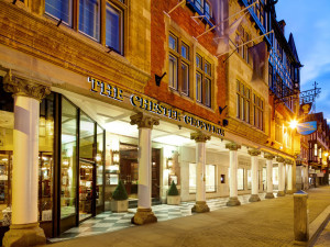 Exterior view of Chester Grosvenor.