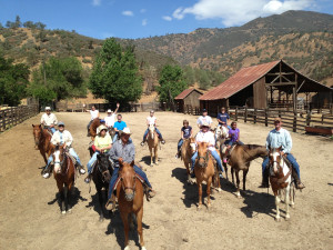 Family reunions at Rankin Ranch.