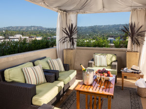 Cabana at Raffles L'Ermitage Beverly Hills.