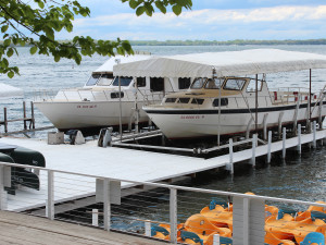 Enjoy boat cruises at Fillenwarth Beach Resort