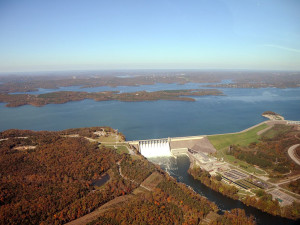 Table Rock Dam near The Branson Stone Castle Hotel & Conference Center.