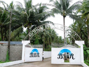 Gates at Bobon Beach Resort.