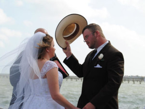 Wedding at The Lighthouse Inn at Aransas Bay.