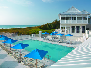 Outdoor pool at The Seagate Hotel & Spa.