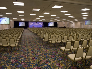 Conference at Town and Country Resort & Convention Center.