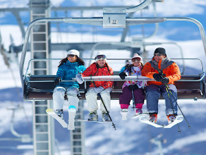 Skiing at SkyRun Vacation Rentals - Park City, Utah.