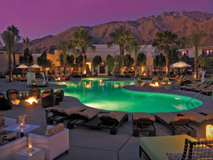 Outdoor pool at Riviera Palm Springs Resort & Spa.