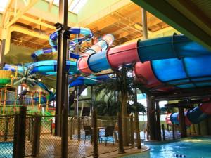 Indoor waterpark at Maui Sands Resort & Indoor Waterpark.