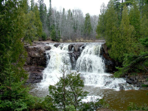 Gooseberry Falls State Park near AmericInn Lodge & Suites Two Harbors.