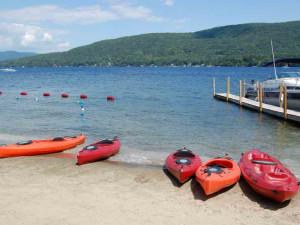 Beach Amenities at The Georgian Lakeside Resort