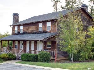 Rental exterior at Georgia Mountain Rentals.