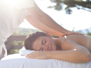 Back massage at Topnotch Resort.
