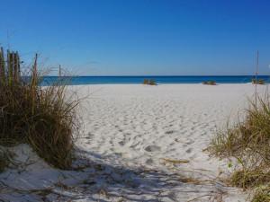 The beach at Liberte Management Group.