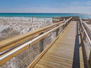 The beach at SkyRun Vacation Rentals - Destin, Florida.