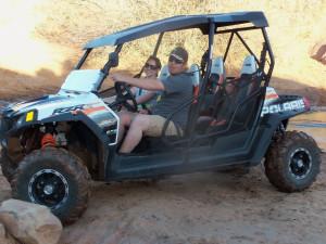 Jeep rental at Canyonlands Lodging.