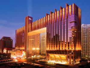 Exterior view of Fairmont Beijing.