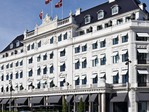 Exterior view of Hotel D'Angleterre.