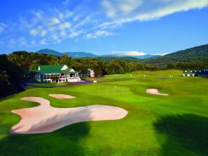 Golf course at Wintergreen Resort.