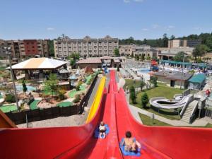 Water slide at Chula Vista Resort.