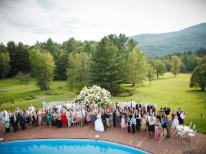 Wedding at Stowehof Inn & Resort.
