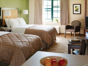 Guest room at Extended Stay Deluxe Dallas - Las Colinas - Green Park Dr.